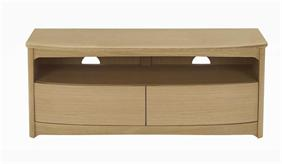 Nathan - Shades In Oak -  TV Unit With Drawers