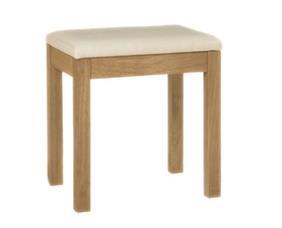 Georgia Dressing Table Stool in Oak