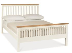 Georgia High Foot End Bedstead in Two Tone