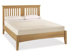Westminster Slatted Bedstead in Oak