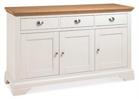 Westminster Wide Sideboard in Two Tone