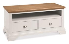 Westminster Entertainment Unit in Two Tone