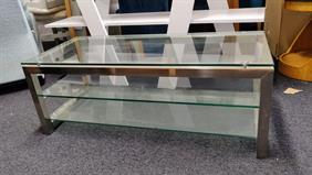 Mark Webster Catalan Glass TV Unit/Coffee Table