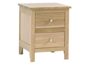 Corndell - Nimbus Range - 2 Drawer Bedside Cabinet