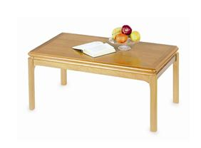 Nathan - Classic Teak - Crown Cut Coffee Table