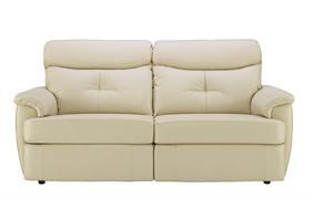 G Plan - Atlanta Leather Three Seater Sofa