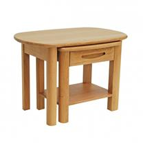Gola- Bergen Oak- Nest of Tables with Shelf