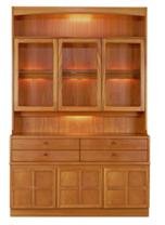 Nathan- Classic Teak- Display Combination Unit