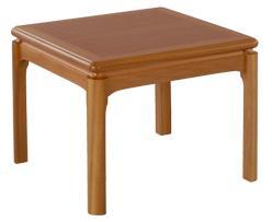 Nathan- Classic Teak- Crown Cut Lamp Table