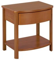 Nathan - Shades Teak - Shaped Lamp Table