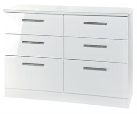 Kensington Collection- 6 Drawer Midi Chest
