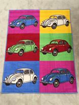 Retro Funky Bug Novelty Rug