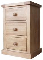 Cotswold Collection- 3 Drawer Bedside