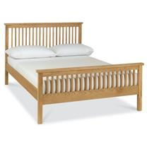 Georgia High Foot End Bedstead in Oak