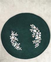 Green Circle Rug