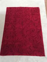 Red Swirl Rug